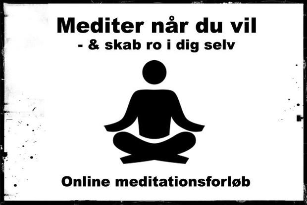 Meditationsforløb: Introfolder med startlink