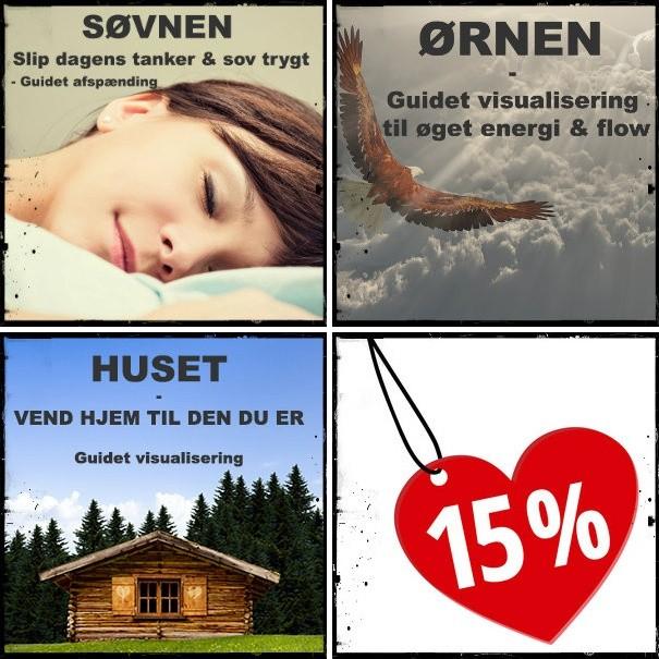 SØVNEN, ØRNEN & HUSET - samlet lydpakke (spar 15%)