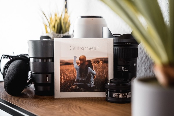 Gutschein für ein Fotoshooting deiner Wahl