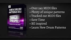 MIDI Drum Patterns Vol 1 (Hip-Hop/R&B)