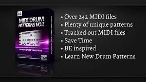MIDI Drum Patterns Vol 1 (Hip-Hop/R&B)