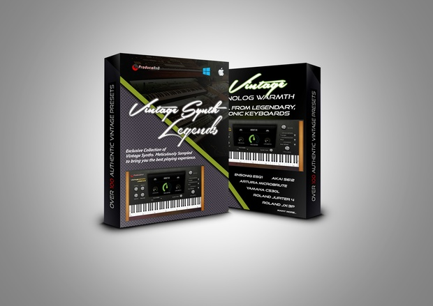 Vintage Synth Legends VSTi Windows 64-bit