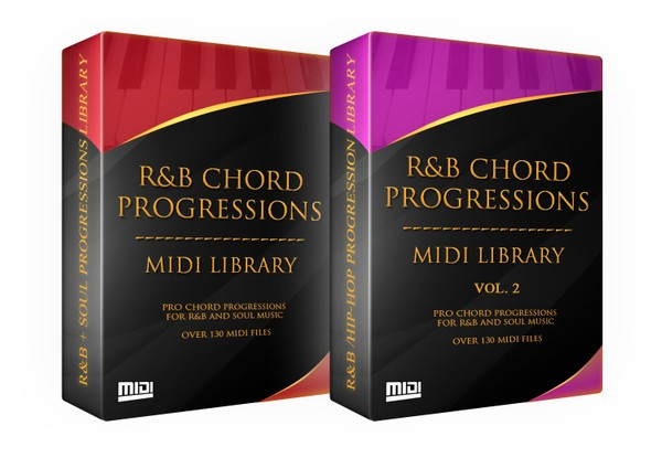 The R&B Chord Progressions MIDI Library Vol. 1 & 2