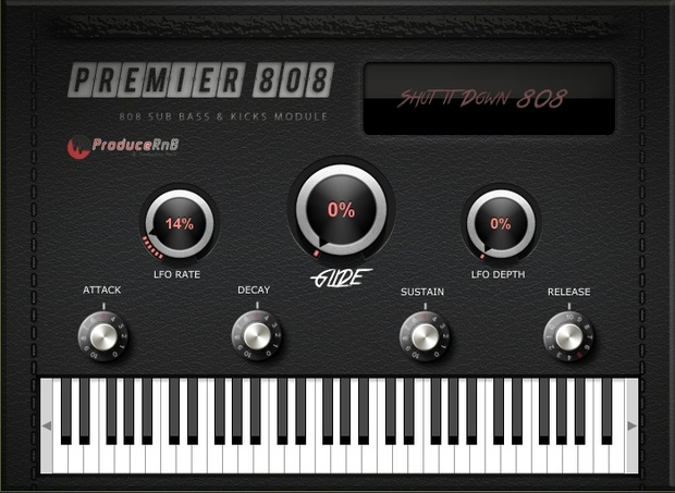 Premier 808's and Bass VST