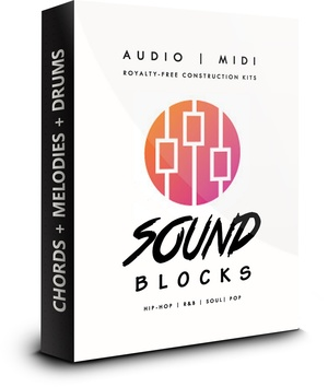 Sound Blocks Audio/MIDI Kit w/MIDI Drum Patterns