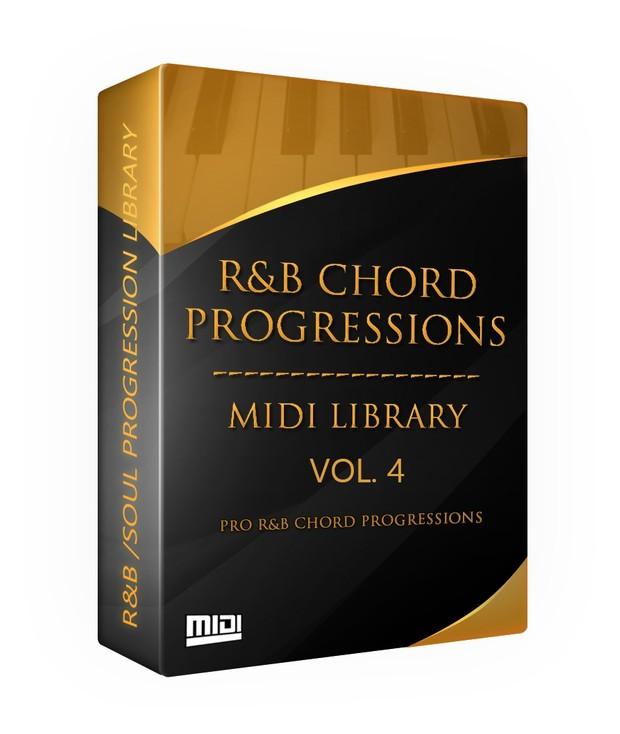 The R&B Chord Progressions MIDI Library Vol. 4.1 + 4.2