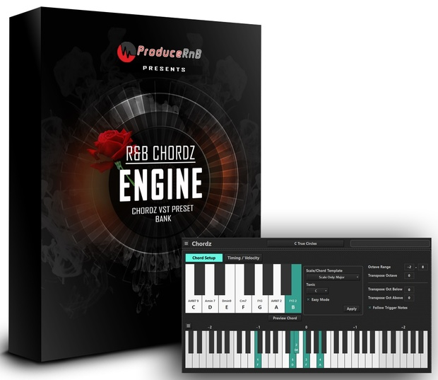 R&B Chordz Engine Preset Bank for the Chordz VST