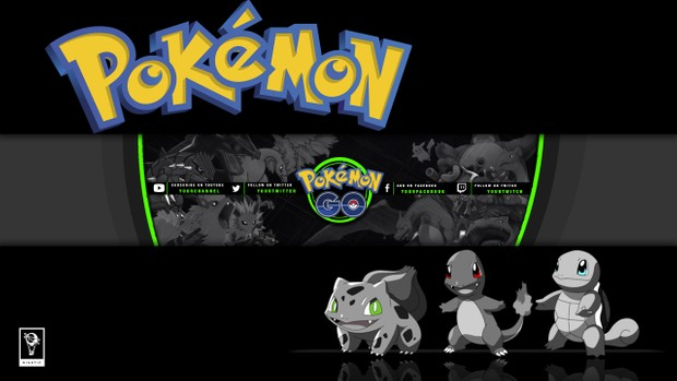Pokemon GO YouTube Channel Banner Template