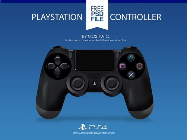 free ps4 controller template madmoneybanks