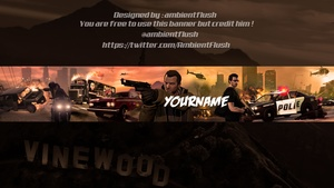 @AmbientFlush 5 Free YouTube Banner Templates