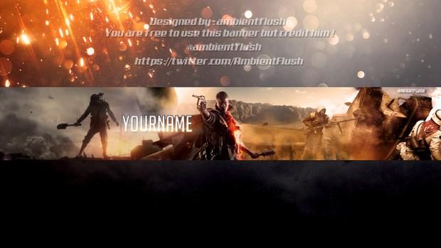 @AmbientFlush 5 Free YouTube Banner Templates