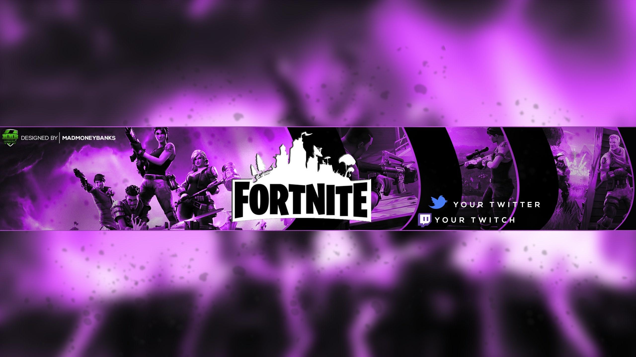 Cool Fortnite Youtube Banners