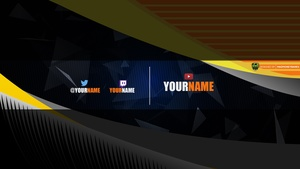 Swoop YouTube Channel Banner Template