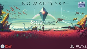 No Man's Sky YouTube Channel Banner Template