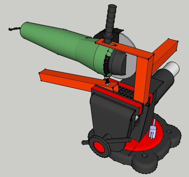 Grinder Vice Attachment and Handle Plans