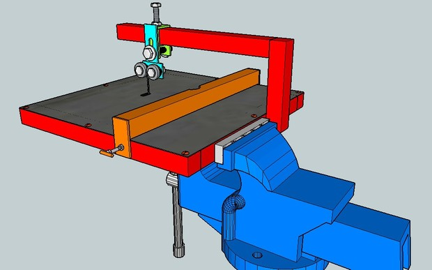 Jig Saw Vice Attachment