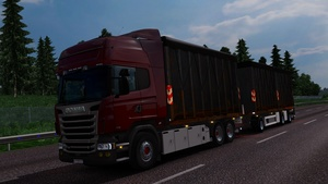 Scania RJL addon Container+Trailer