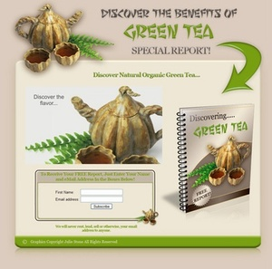 Green Tea With Resale Rights - 32047276