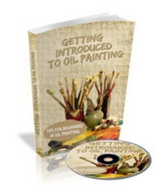 Getting Introduced to Oil Painting Ebook & Audio Book with Master Resale Rights MRR - 96047906