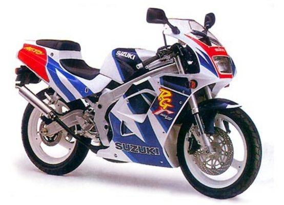 suzuki rg125 rg 125 gamma repair manual workshop maint rh sellfy com Suzuki 250 2 Stroke Airbrush Suzuki RGV 120
