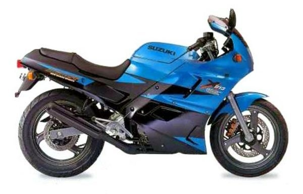 1991 - 1994 SUZUKI GSX250F GSX 250F GSX250 Workshop Manual / Repair Manual / Service Manual - INST