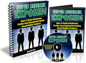 New SUPER RESELLER EXPOSED!! AUDIO(MP3) + EBOOK(PDF) with Master ReSell Rights - 8594438