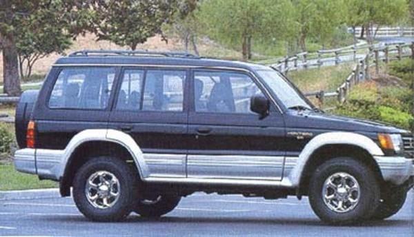 1992 - 1995 Mitsubishi Montero - Factory Service Manual / PDF Repair / Workshop Manual 1992 1993 1