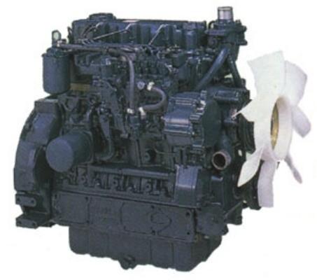 KUBOTA DIESEL ENGINE 03 SERIES SERVICE MANUAL : D1403 D1703 V1903 V2203 F2803 - Repair / Workshop