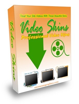 NEW VIDEO SKINS PACKAGE - Give Your Site A Sophisticated Look With These Great Video Skins DOWNLOA