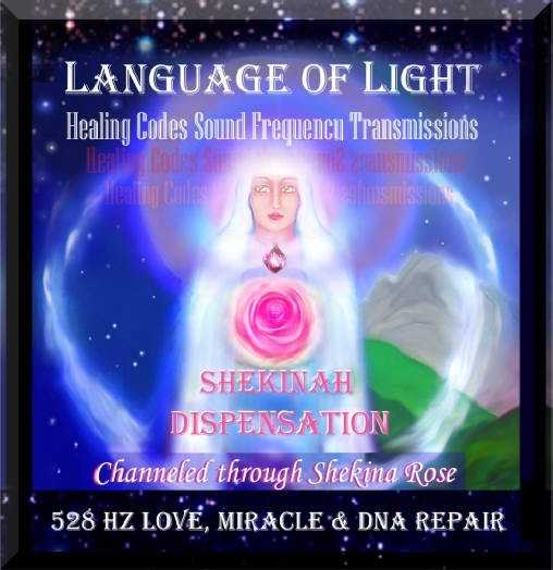Language of light healing codes Sound Transmissions 528 Hz Transformation,  Love DNA Repair