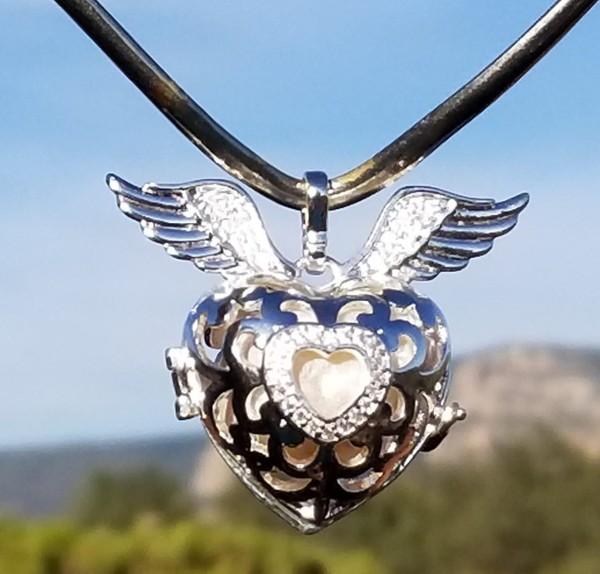 Sedona Moonstone White light Heart of Sedona Crystal