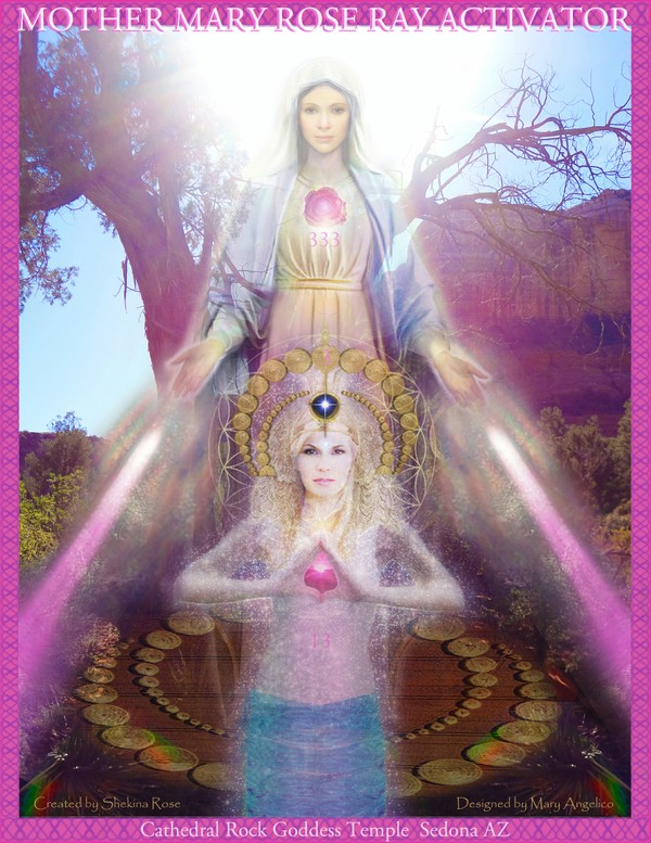Rose Ray Mother Mary Activator 333 instant download