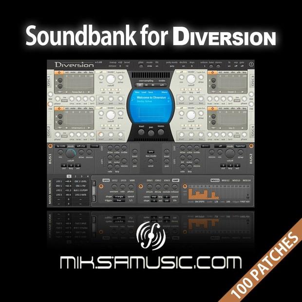 Soundbank for Diversion - miksamusic.com
