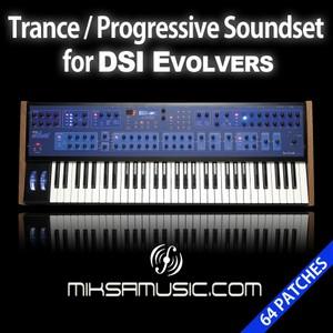 Trance/Progressive Soundset for DSI Evolver - miksamusic.com