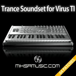 Trance Soundset for Virus TI - miksamusic.com