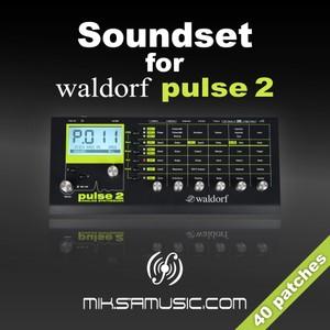 Soundset for Waldorf Pulse 2 - miksamusic.com