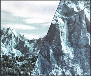 Complete Mountain WorldPainter Brush Set