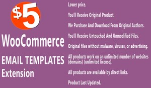 YITH WooCommerce Email Templates Extension