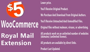 WooCommerce Royal Mail Extension