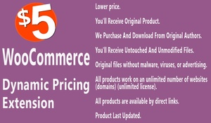 WooCommerce Dynamic Pricing Extension