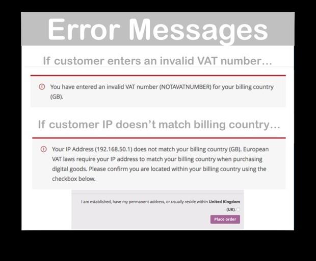 WooCommerce EU VAT Number Extension