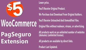 WooCommerce PagSeguro Gateway Extension