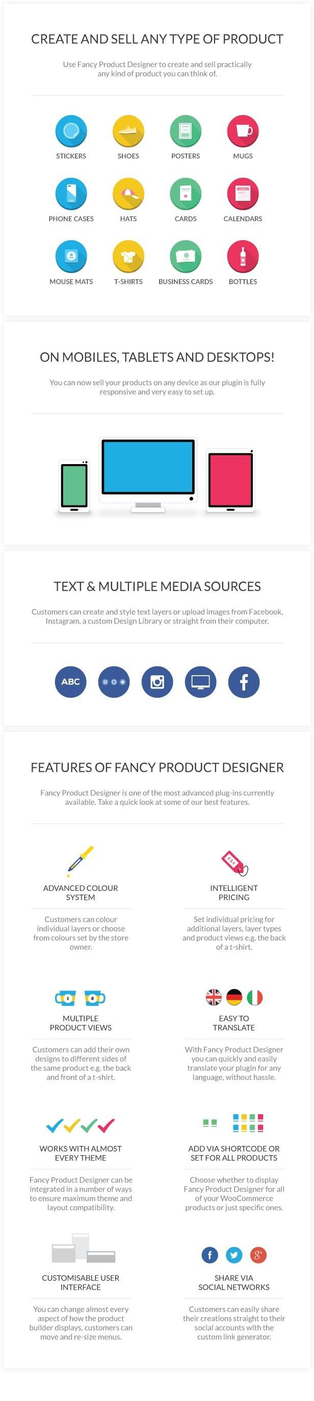 Fancy Product Designer 3.4.2 Premium WooCommerce WordPress Plugin