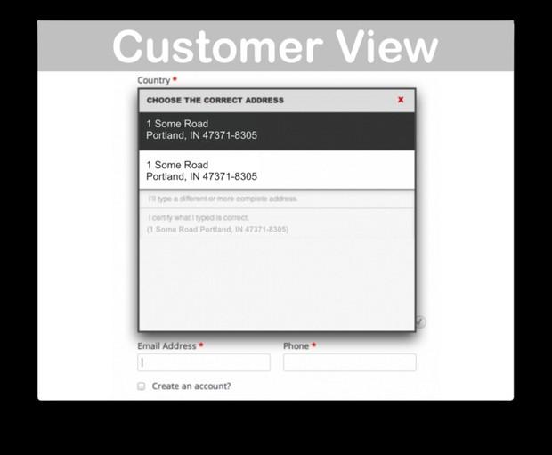 WooCommerce Postcode Address Validation Extension