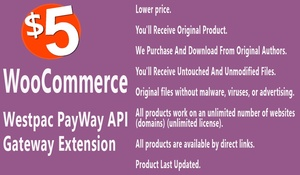 WooCommerce Westpac PayWay API Payment Gateway Extension