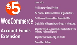 WooCommerce Account Funds Extension