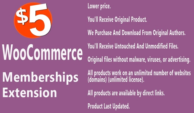 WooCommerce Memberships Extension