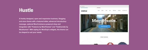 WooCommerce Hustle Theme 1.3.15 Wordpress
