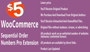 WooCommerce Sequential Order Numbers Pro Extension