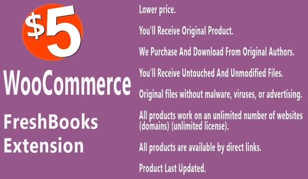 WooCommerce Freshbooks Extension
